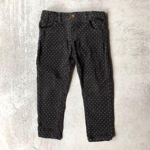 Zara Baby Polka Dot Corduroy Jeans
